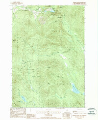 Download a high-resolution, GPS-compatible USGS topo map for Dixville Notch, NH (1988 edition)