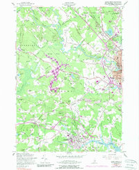 Download a high-resolution, GPS-compatible USGS topo map for Dover West, NH (1989 edition)