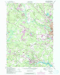 Download a high-resolution, GPS-compatible USGS topo map for Dover West, NH (1994 edition)
