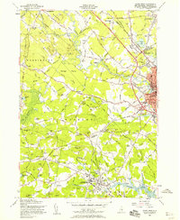Download a high-resolution, GPS-compatible USGS topo map for Dover West, NH (1958 edition)