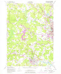 Download a high-resolution, GPS-compatible USGS topo map for Dover West, NH (1978 edition)