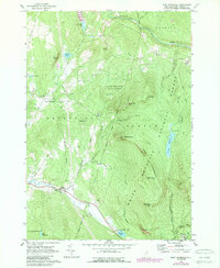 Download a high-resolution, GPS-compatible USGS topo map for East Haverhill, NH (1989 edition)