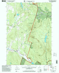 Download a high-resolution, GPS-compatible USGS topo map for East Haverhill, NH (2000 edition)