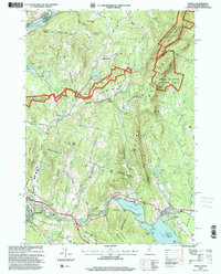 Download a high-resolution, GPS-compatible USGS topo map for Enfield, NH (2001 edition)