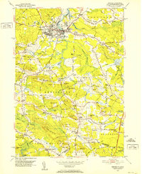 Download a high-resolution, GPS-compatible USGS topo map for Exeter, NH (1952 edition)