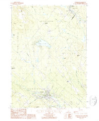 Download a high-resolution, GPS-compatible USGS topo map for Farmington, NH (1987 edition)