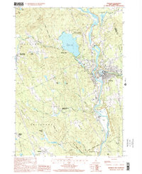Download a high-resolution, GPS-compatible USGS topo map for Franklin, NH (2001 edition)
