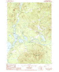 Download a high-resolution, GPS-compatible USGS topo map for Freedom, NH (1987 edition)