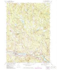 Download a high-resolution, GPS-compatible USGS topo map for Goffstown, NH (1985 edition)