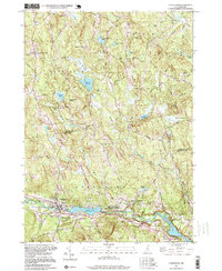 Download a high-resolution, GPS-compatible USGS topo map for Goffstown, NH (1999 edition)