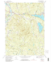 Download a high-resolution, GPS-compatible USGS topo map for Gossville, NH (1988 edition)