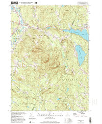 Download a high-resolution, GPS-compatible USGS topo map for Gossville, NH (1999 edition)