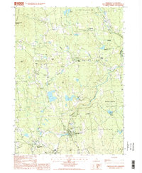 Download a high-resolution, GPS-compatible USGS topo map for Greenville, NH (1998 edition)