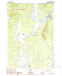 Download a high-resolution, GPS-compatible USGS topo map for Groveton, NH (1988 edition)