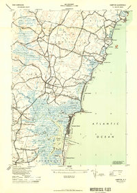 Download a high-resolution, GPS-compatible USGS topo map for Hampton, NH (1950 edition)