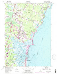 Download a high-resolution, GPS-compatible USGS topo map for Hampton, NH (1977 edition)