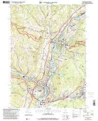 Download a high-resolution, GPS-compatible USGS topo map for Hanover, NH (2001 edition)