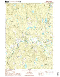 Download a high-resolution, GPS-compatible USGS topo map for Henniker, NH (1999 edition)