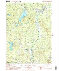 Download a high-resolution, GPS-compatible USGS topo map for Hillsboro, NH (1999 edition)