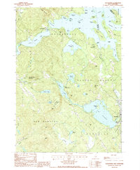 Download a high-resolution, GPS-compatible USGS topo map for Holderness, NH (1987 edition)