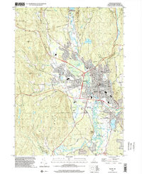 Download a high-resolution, GPS-compatible USGS topo map for Keene, NH (2002 edition)
