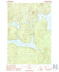 Download a high-resolution, GPS-compatible USGS topo map for Lake Francis, NH (1989 edition)