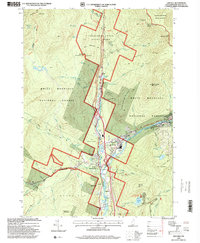 Download a high-resolution, GPS-compatible USGS topo map for Lincoln, NH (2000 edition)