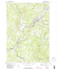 Download a high-resolution, GPS-compatible USGS topo map for Lisbon, NH (1988 edition)