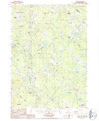 Download a high-resolution, GPS-compatible USGS topo map for Loudon, NH (1987 edition)