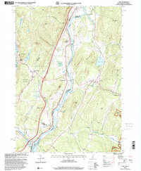Download a high-resolution, GPS-compatible USGS topo map for Lyme, NH (2001 edition)