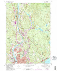 Download a high-resolution, GPS-compatible USGS topo map for Manchester North, NH (1985 edition)