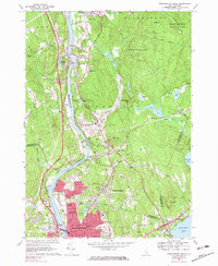 Download a high-resolution, GPS-compatible USGS topo map for Manchester North, NH (1983 edition)