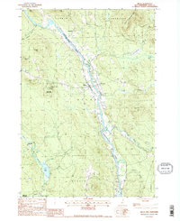 Download a high-resolution, GPS-compatible USGS topo map for Milan, NH (1988 edition)