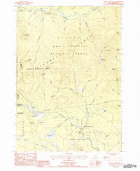 Download a high-resolution, GPS-compatible USGS topo map for Mount Chocorua, NH (1987 edition)