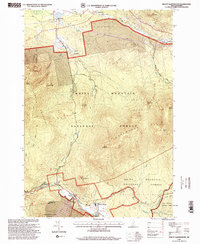 Download a high-resolution, GPS-compatible USGS topo map for Mount Dartmouth, NH (2000 edition)