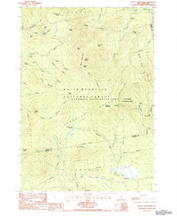Download a high-resolution, GPS-compatible USGS topo map for Mount Tripyramid, NH (1987 edition)