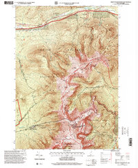 Download a high-resolution, GPS-compatible USGS topo map for Mount Washington, NH (1999 edition)