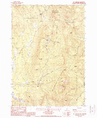 Download a high-resolution, GPS-compatible USGS topo map for Mt Cardigan, NH (1987 edition)