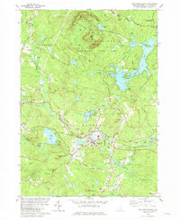 Download a high-resolution, GPS-compatible USGS topo map for Mt Pawtuckaway, NH (1981 edition)