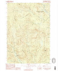 Download a high-resolution, GPS-compatible USGS topo map for Mt Pisgah, NH (1989 edition)