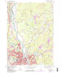 Download a high-resolution, GPS-compatible USGS topo map for Nashua North, NH (1985 edition)