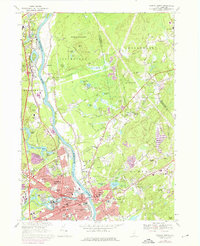 Download a high-resolution, GPS-compatible USGS topo map for Nashua North, NH (1976 edition)