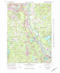 Download a high-resolution, GPS-compatible USGS topo map for Nashua South, NH (1984 edition)