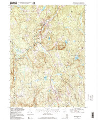 Download a high-resolution, GPS-compatible USGS topo map for New Boston, NH (1999 edition)