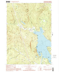 Download a high-resolution, GPS-compatible USGS topo map for Newfound Lake, NH (2001 edition)