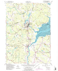 Download a high-resolution, GPS-compatible USGS topo map for Newmarket, NH (1989 edition)