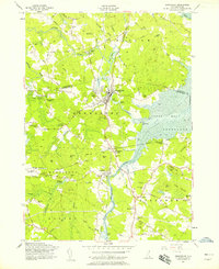 Download a high-resolution, GPS-compatible USGS topo map for Newmarket, NH (1958 edition)