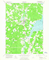 Download a high-resolution, GPS-compatible USGS topo map for Newmarket, NH (1965 edition)