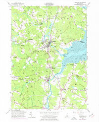 Download a high-resolution, GPS-compatible USGS topo map for Newmarket, NH (1977 edition)