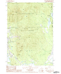 Download a high-resolution, GPS-compatible USGS topo map for North Conway East, NH (1987 edition)